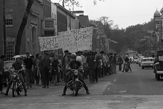 May 8 1970 Dickinson College Vietnam War Protest At Dickinson