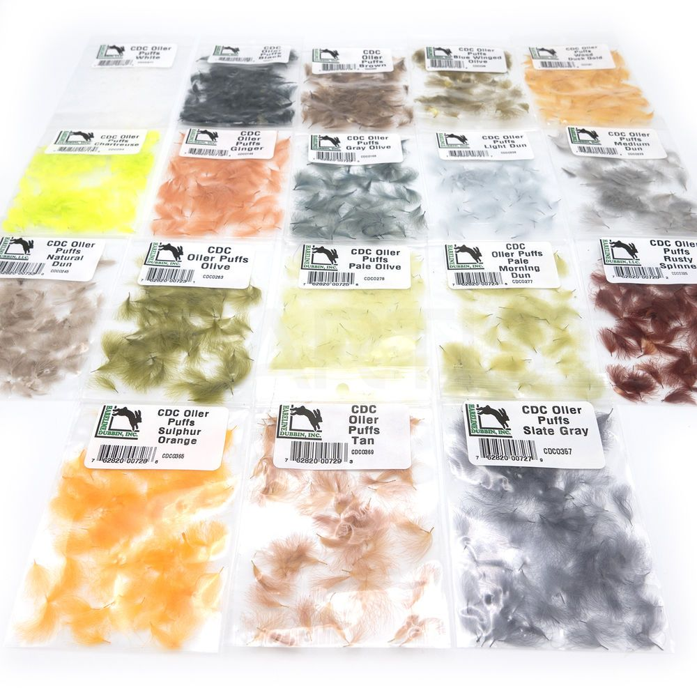 Hareline Dubbin CDC Oiler Puffs