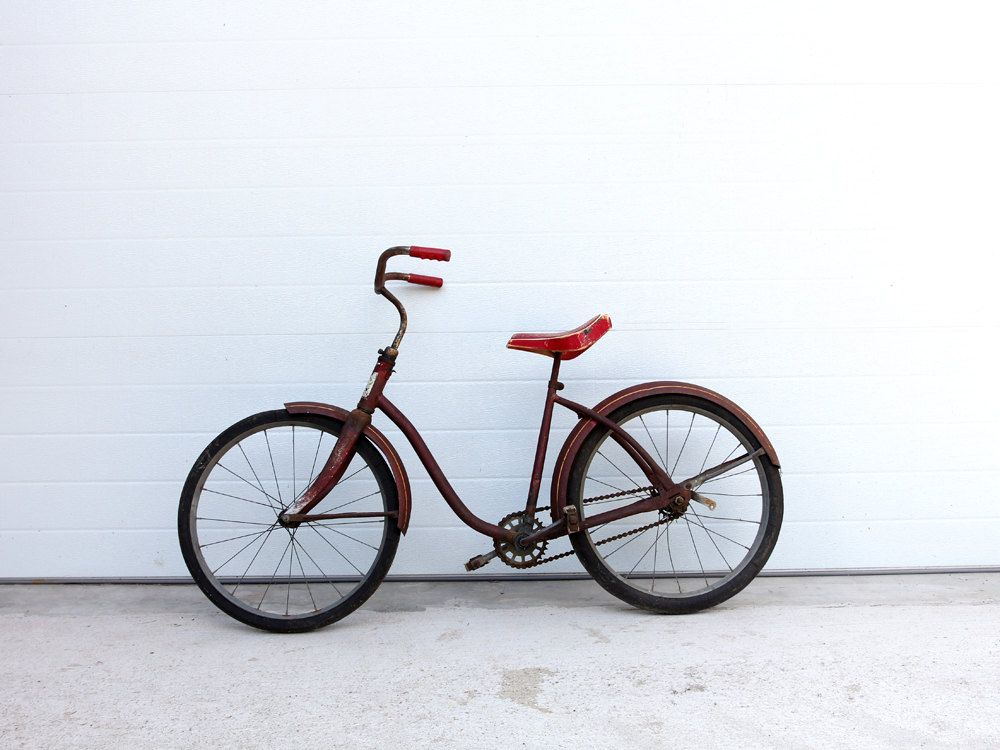 1950s Roadmaster Bicycle Vintage Children S Bike 275 00 Via Etsy Childrens Bike Roadmaster Bicycle Vintage Bicycles