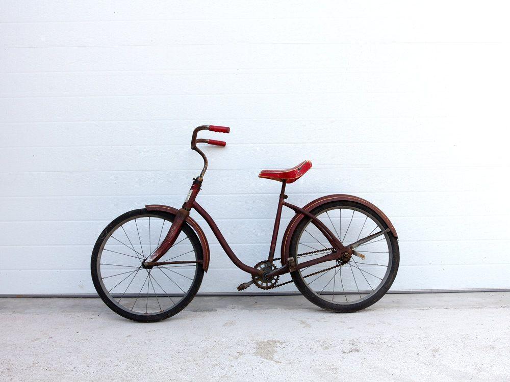 1950s Roadmaster Bicycle / Vintage Children's Bike. $275.00, via Etsy.