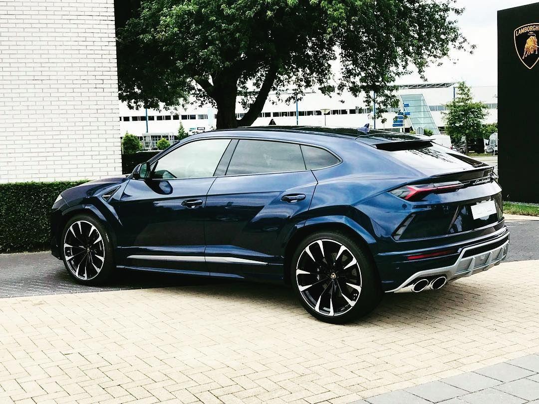 Lamborghini Urus Dark Blue Follow Cargram Nl For More