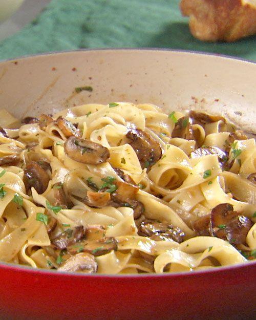 Mushroom Pasta - Martha Stewart Recipes