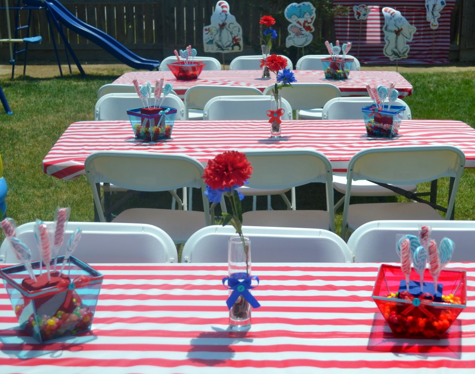 Dr. Seuss thing 1 thing 2 party