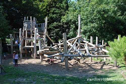 Backyard Playscape Designs eco friendly playgrounds eco friendly playground equipment eco friendly swing sets Playground Build Design Natural Wood Earthwrights