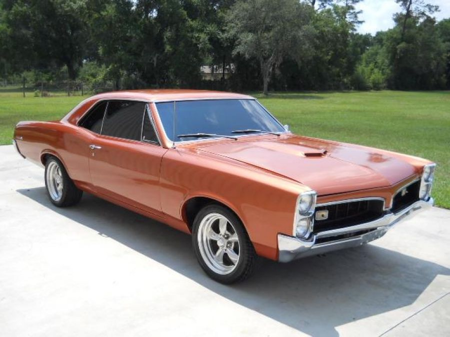 1967 Copper Orange Gto Clone Chevy Muscle Cars Classic Cars Muscle Gto