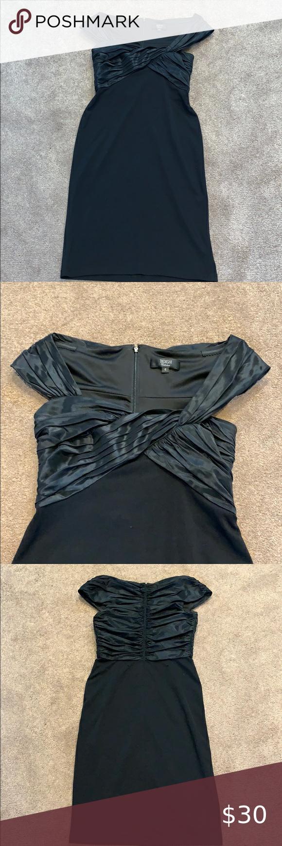 Tadashi Little Black Dress Little Black Dress Flattering Dresses Dresses [ 1740 x 580 Pixel ]