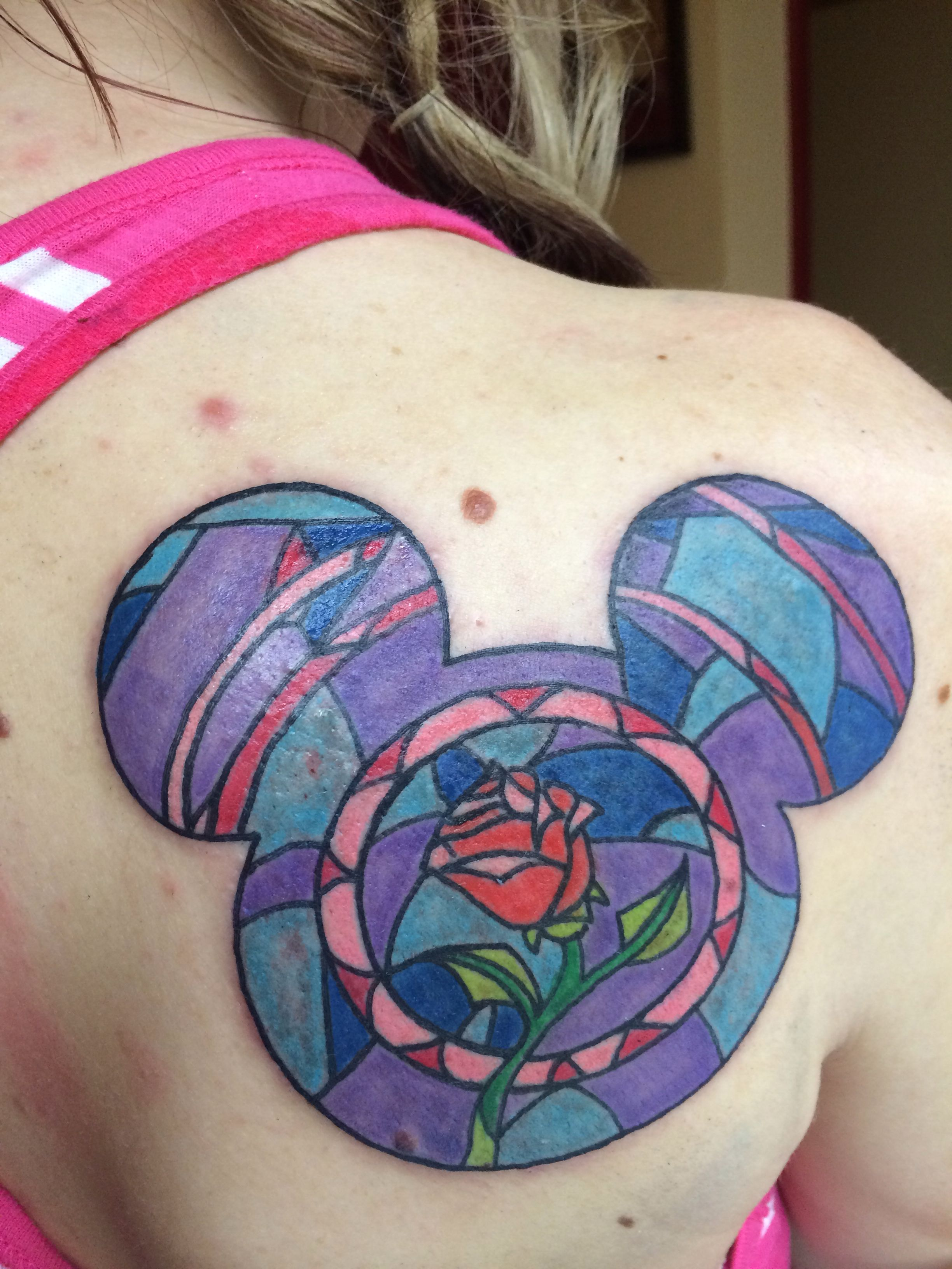beauty and the beast rose tattoo disney tattoos pinterest tattoo tatting and piercings. Black Bedroom Furniture Sets. Home Design Ideas