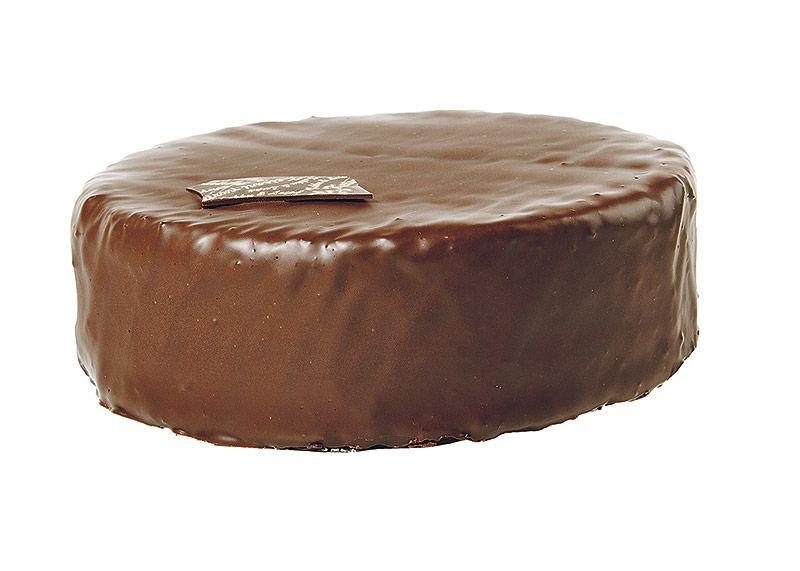 Kakku & Leipä Keisari. Keisarin Sacher.Hienostuneesta korkealaatuisesta suklaasta valmistettu herkuttelijan unelma 38 €.