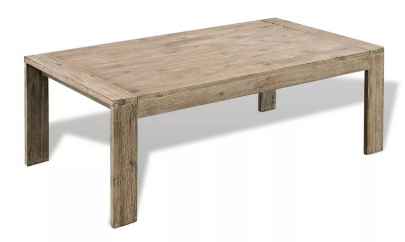 Table Basse Rectangulaire Acacia Massif Clair Brosse Lydie Lestendances Fr En 2020 Table Basse Rectangulaire Table Basse Table Basse Design