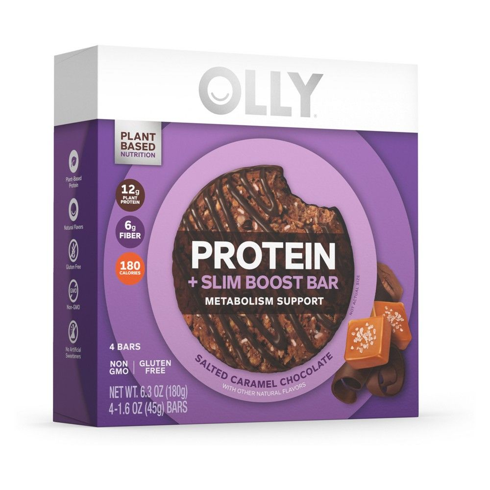 Olly Protein Slim Boost Bar Salted Caramel Chocolate