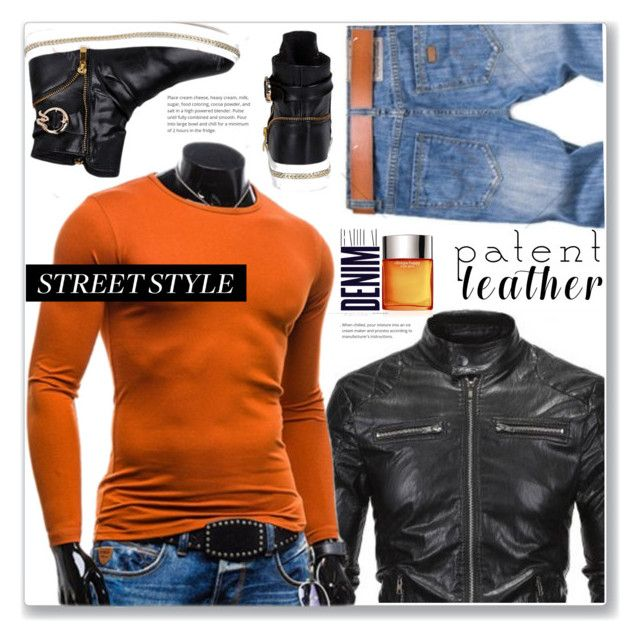 """""""Street Style"""" by jecakns ❤ liked on Polyvore featuring Clinique, Alima, men's fashion and menswear"""