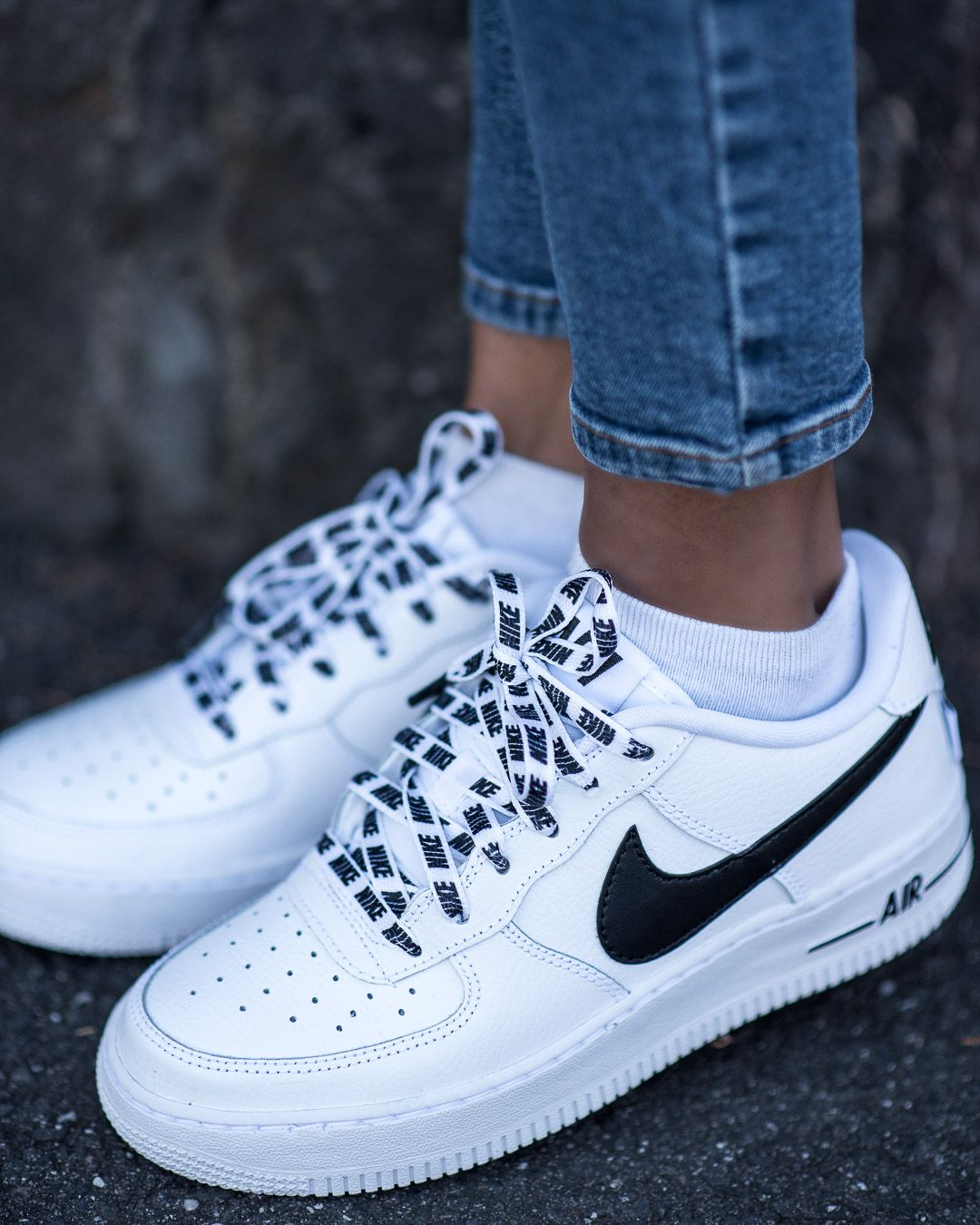 Nike Airforce 1 Sneakers Of The Month Pose Repeat White Nike Shoes Sneaker Heels High Heel Sneakers