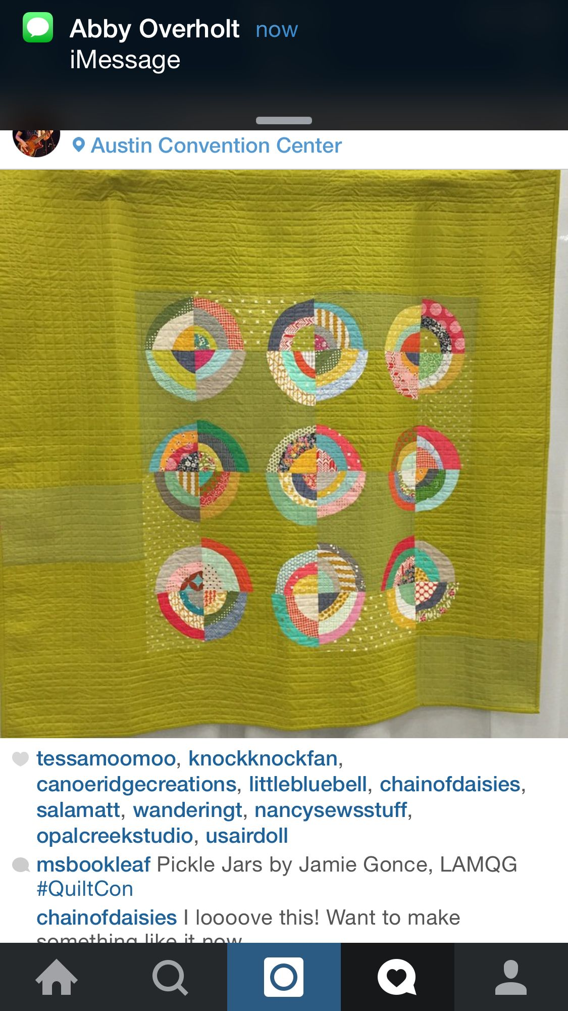 Funky quilt