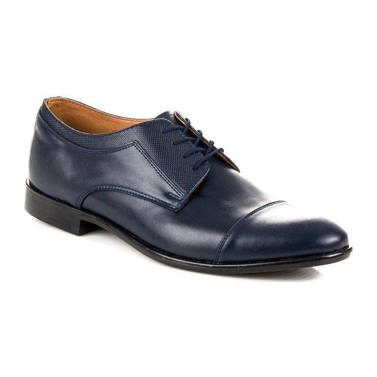 Polbuty Meskie Lucca Niebieskie Granatowe Polbuty Angielki Lucca Lucca Dress Shoes Men Oxford Shoes Men Dress