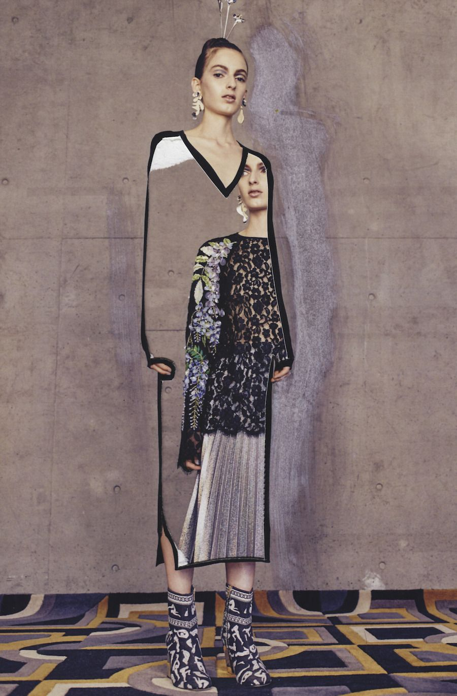 Photo of Fashion Mixed-Media Collages by Eugenia Alejos