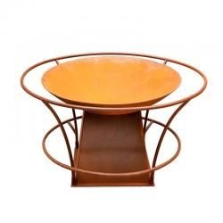 Fire Pit with Rails   Portable fire pits, Fire pits for ...