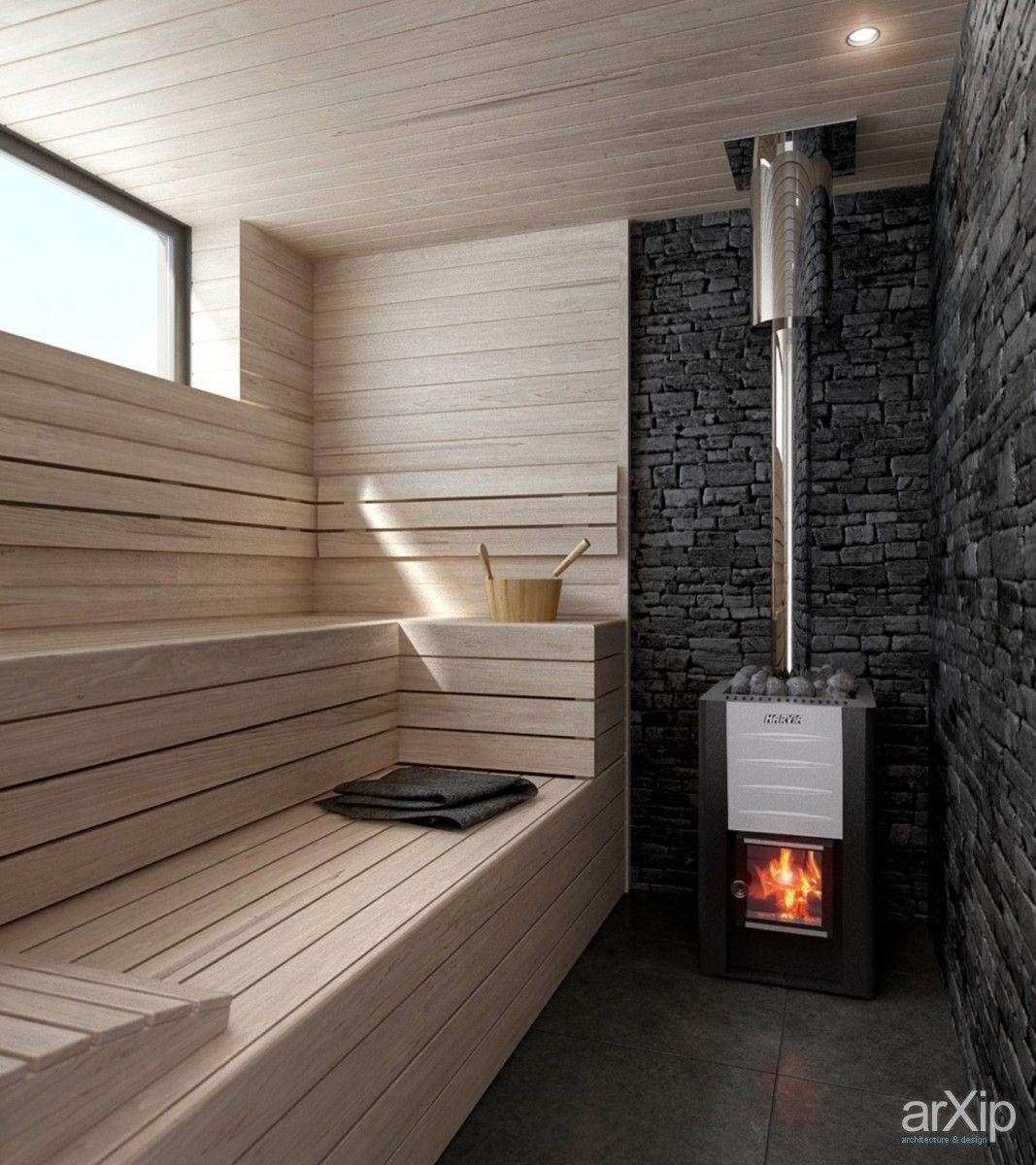 House AUS (парная+моечная) интерьер, назначение - квартира, дом   тип - баня, сауна, хамам   площадь - 10 - 20 м2   стиль - минимализм. Разместил INT2architecture на портале arXip.com