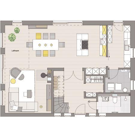 Moderne häuser grundriss neubau  Das ist das WOHNIDEE-Haus 2014 | Viebrockhaus, Moderne architektur ...
