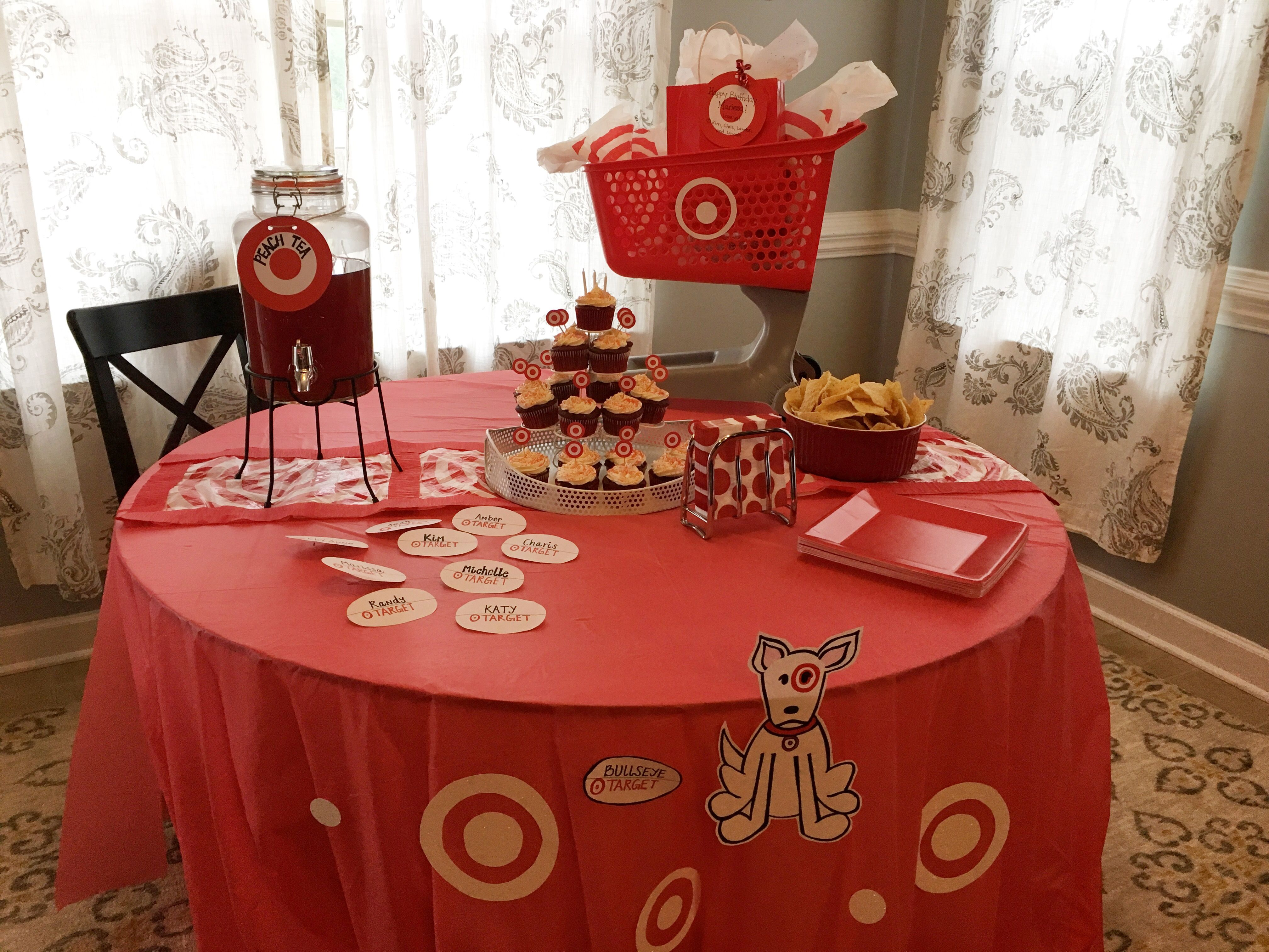 Pin by Kimberly Pendergrass on Target themed party