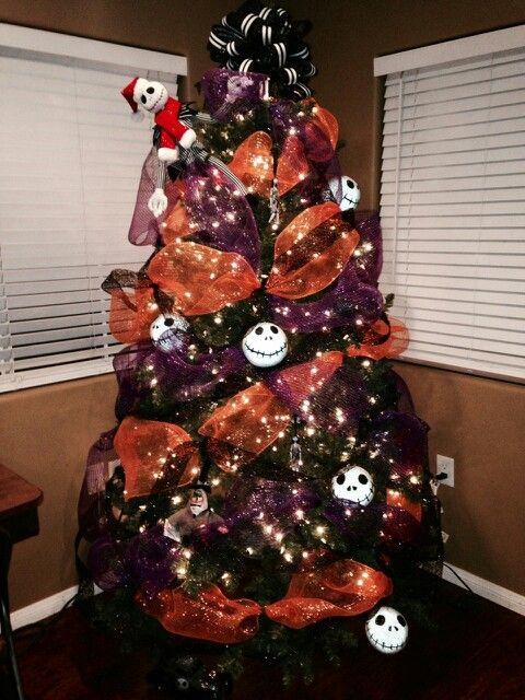 NightMare before Christmas tree - NightMare Before Christmas Tree Tim Burton Inspired Nightmare
