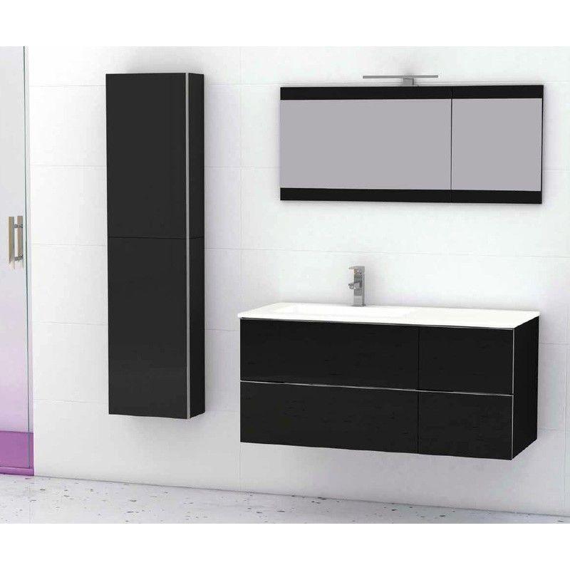 Meuble Suspendu Salle De Bain Duo 105 Chene Avec 501011059 Bathroom Design Layout Diy Bathroom Remodel Layout Design
