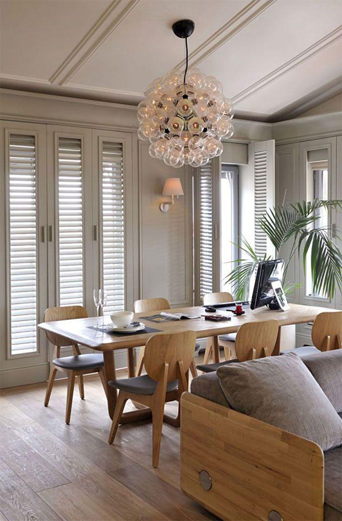 Mesas de comedores mesa madera natural dining room for Mesa salon madera
