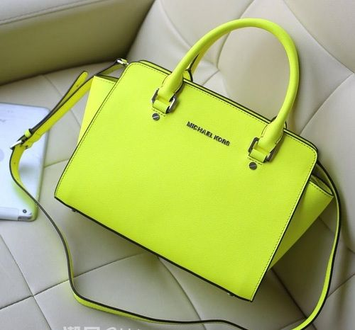 9ee19bd4505a discount code for michael kors selma messenger bag fluorescent green 265.00  56ce1 57c21