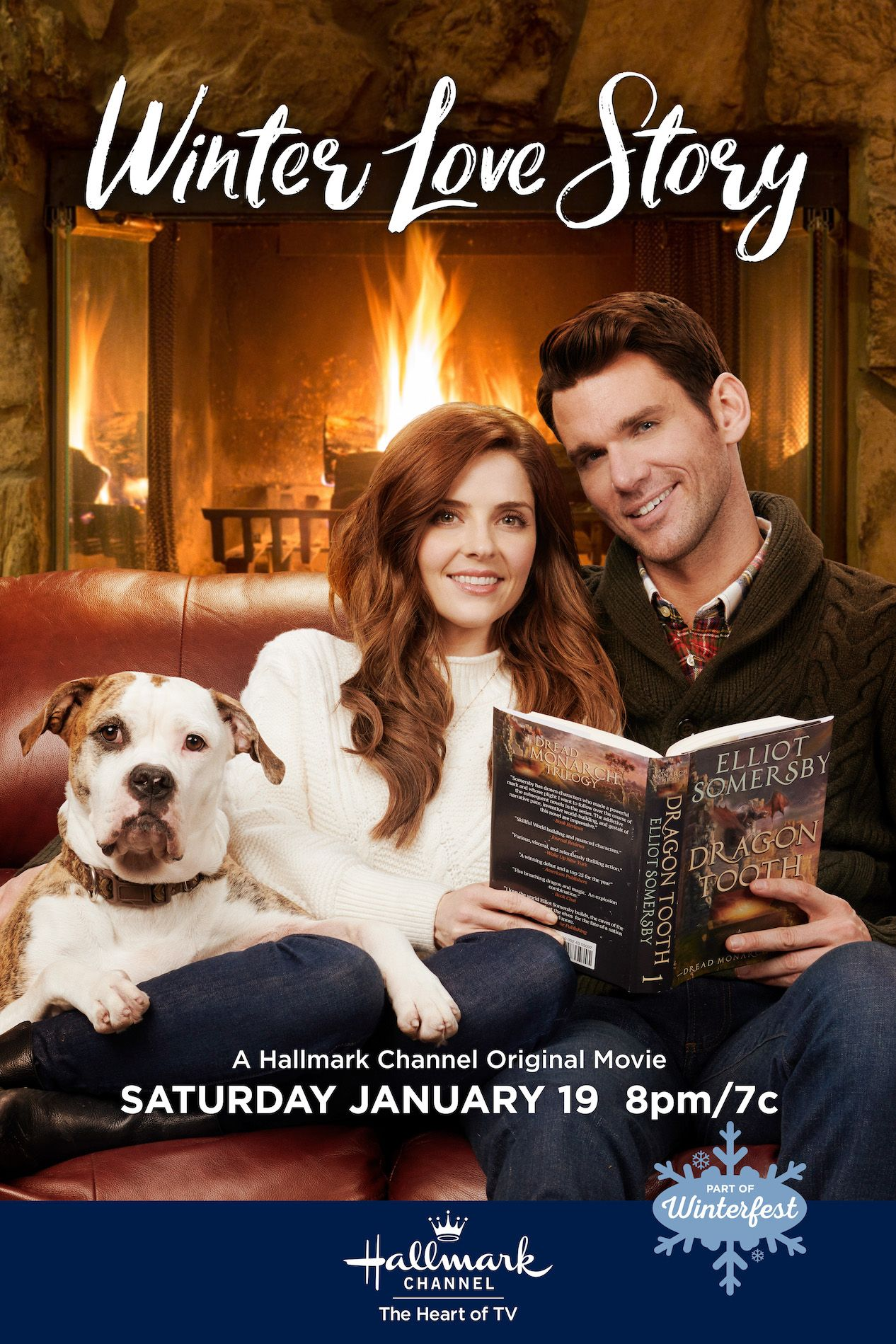 In A Winter Love Story Two Polar Opposite Authors Jen Lilley And When Calls The Heart S Kevin Mcgar Love Story Movie Christmas Movies On Tv Hallmark Movies
