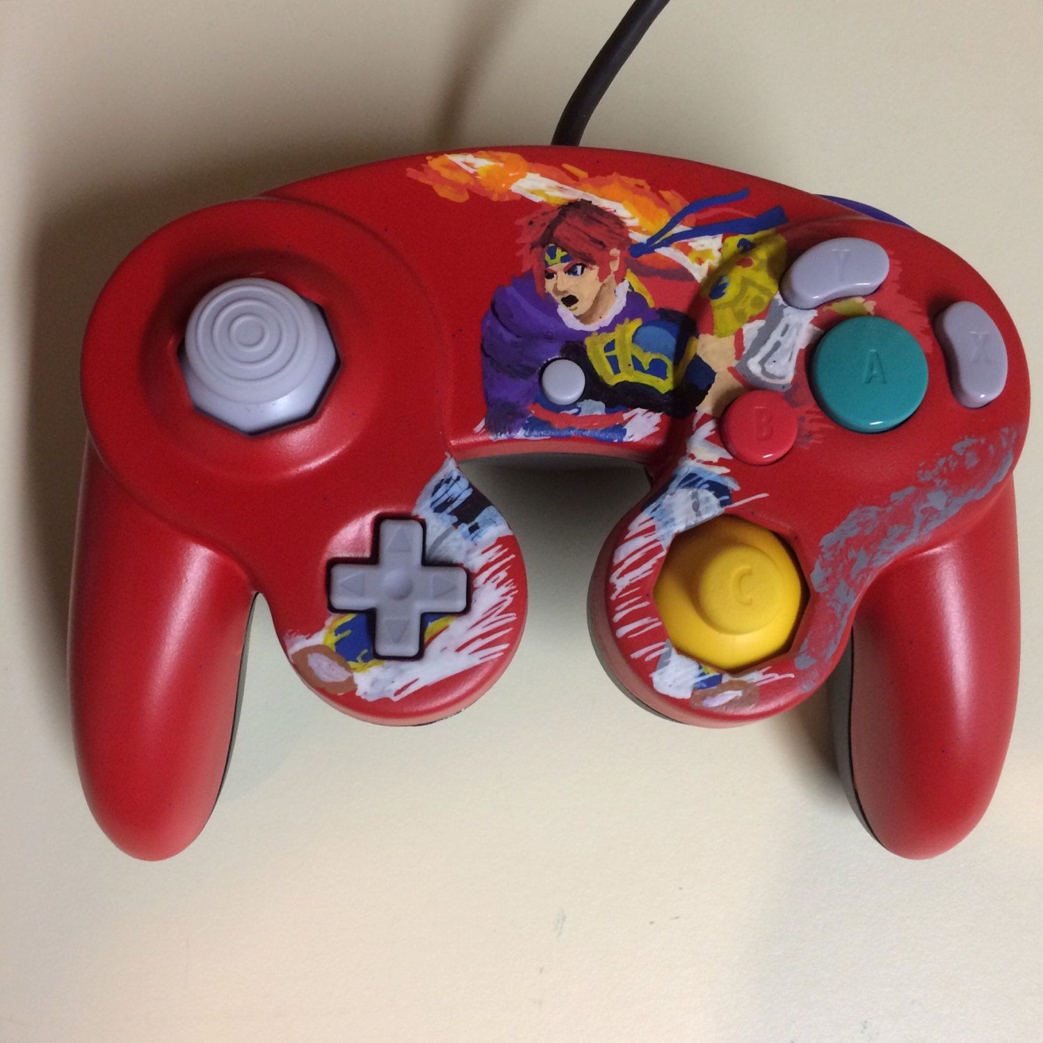 GameCube Made to Order Hand-Painted Custom Controller
