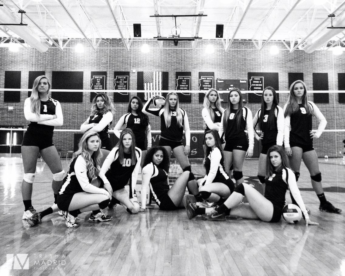 Verrado High School Volleyball team. Buckeye, AZ.