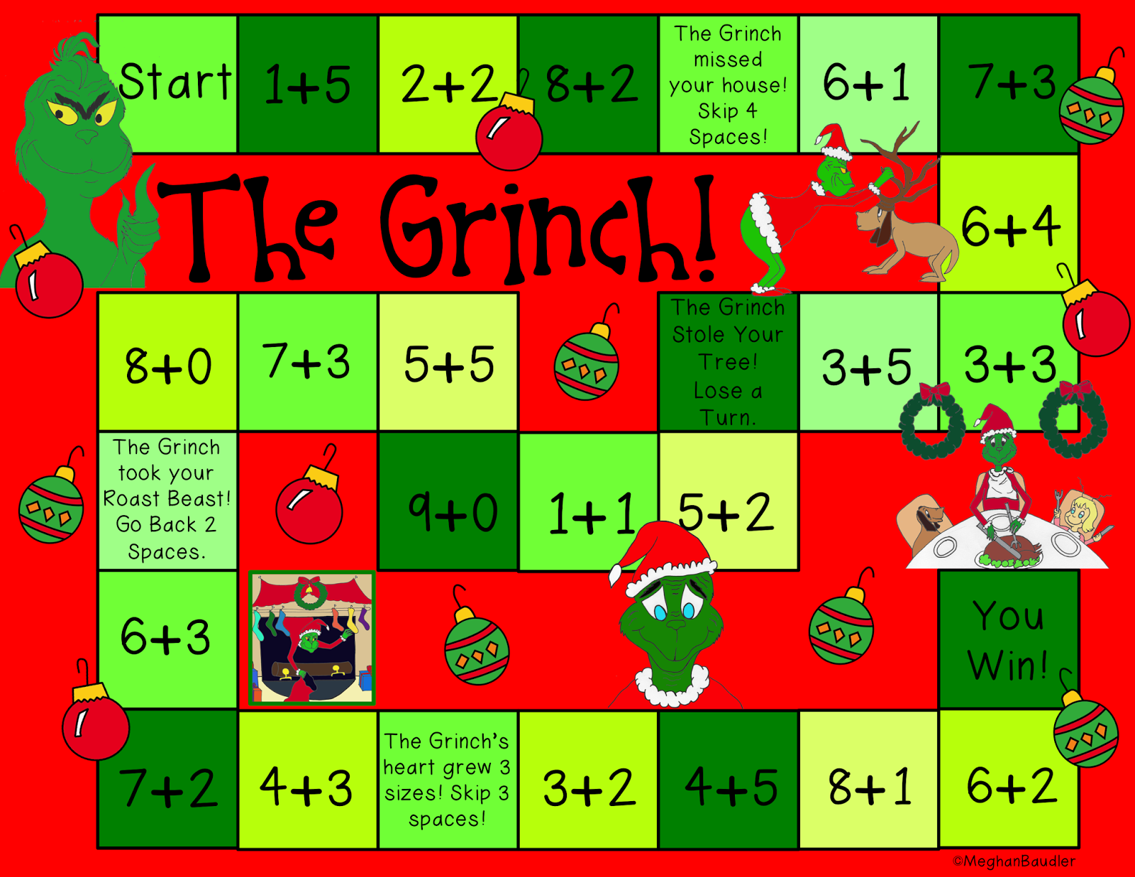 Grinch Day Plans