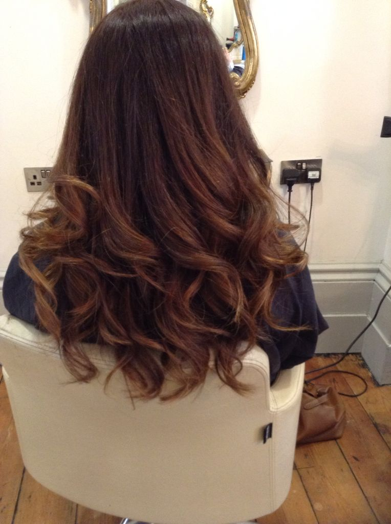 Big curly blowdry  Hair styles  Curly hair styles Curly