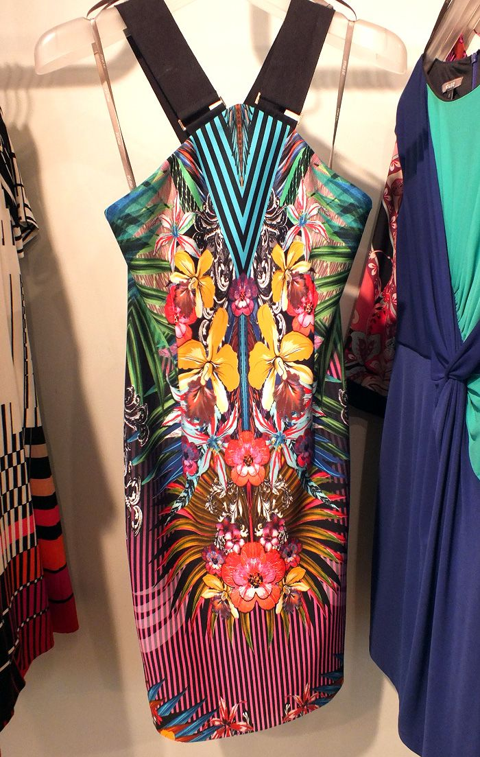 Pretty In Print: Muse Apparel's Irresistible Party Dress Lineup    tropical print, neon, spring! ✿    See more here: http://heymishka.com/2013/03/27/pretty-in-print-muse-apparel-party-dress/