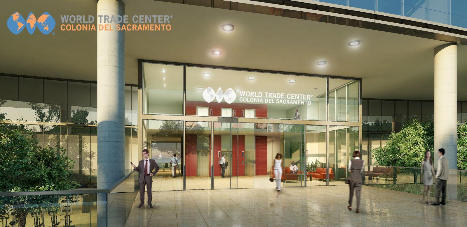 Así será el nuevo World Trade Center Colonia del Sacramento.