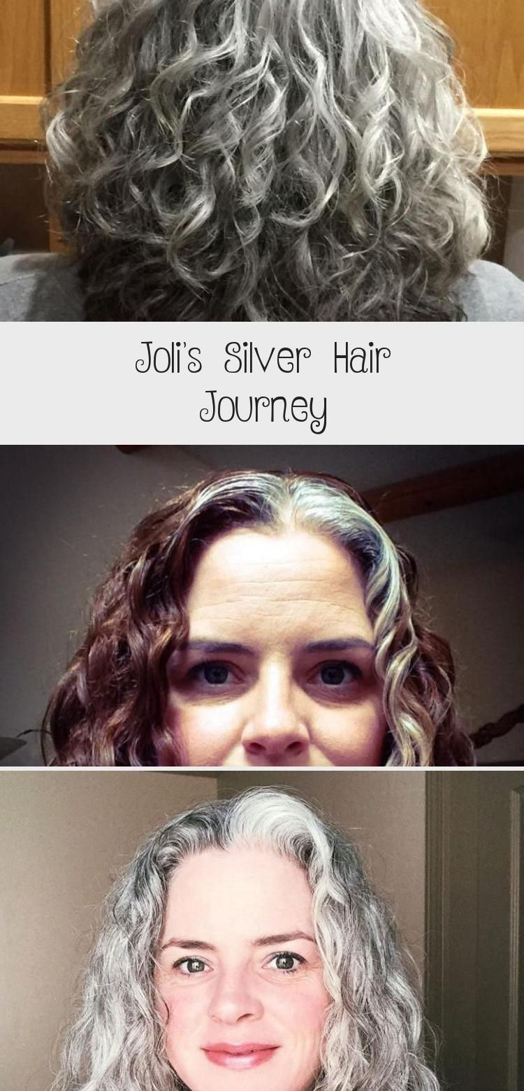 Joli's Silver Hair Journey in 2020 (With images) Silver