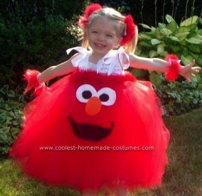 diy halloween costumes with tutus 13 costume tutorials - Halloween Costumes Elmo