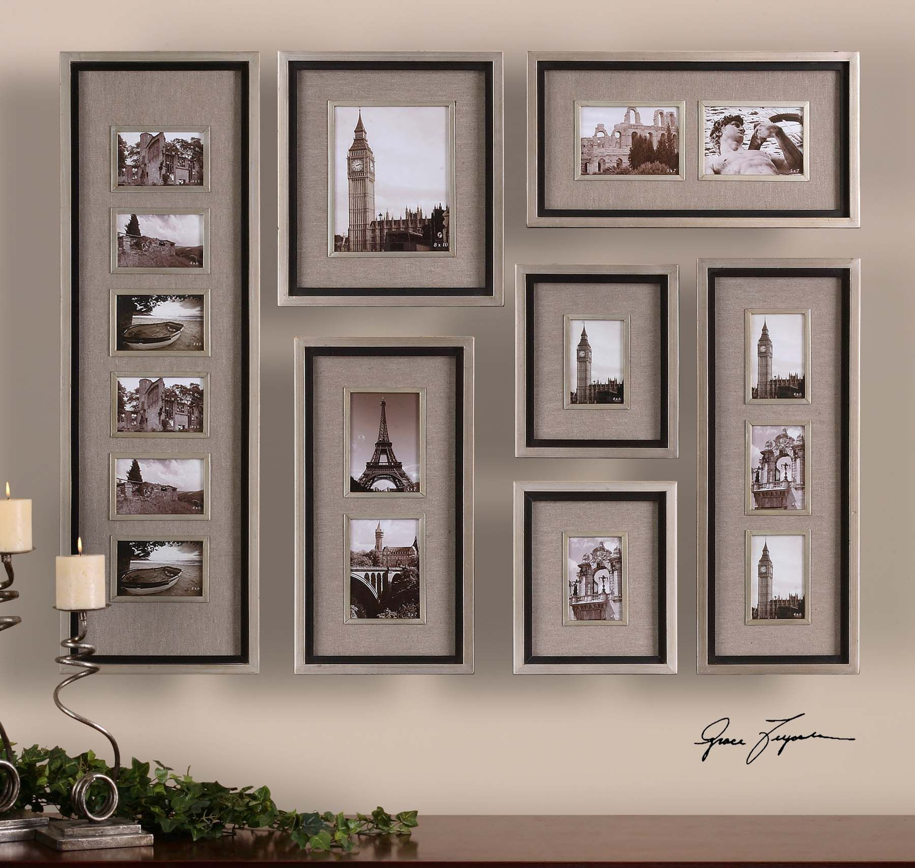 Uttermost massena photo frame collage s7 14458 uttermost uttermost massena photo frame collage set of 7 14458 jeuxipadfo Image collections
