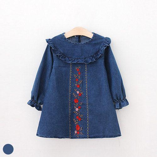 af26f31e8b45 Kids Headquarters Toddler Girls 2-Pc. Embroidered Cotton Tunic & Leggings  Set - Denim/Coral 4T | Products in 2019 | Cotton tunics, Toddler girl  outfits, ...