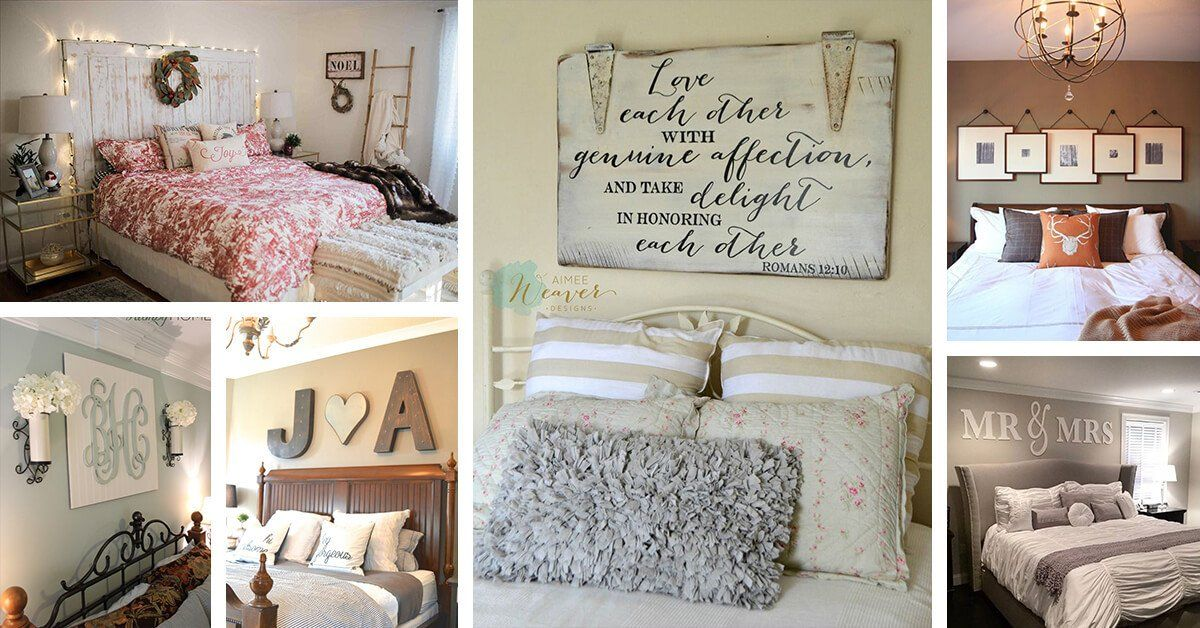 Wall Decor Ideas for Bedroom New 25 Best Bedroom Wall Decor Ideas and Designs for 2019 in 2020 ...