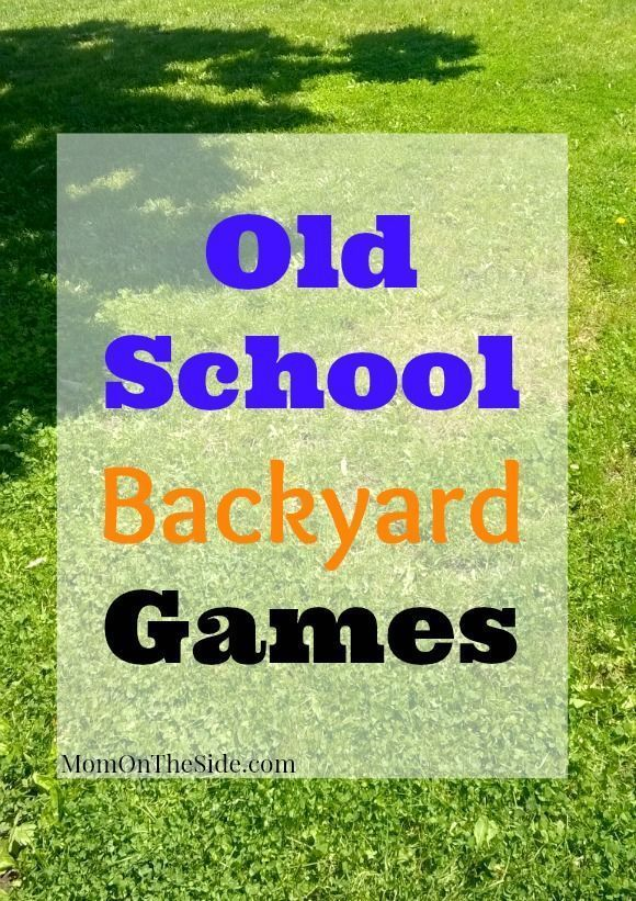 Old School Backyard Games for Kids to Play | School Age Kids