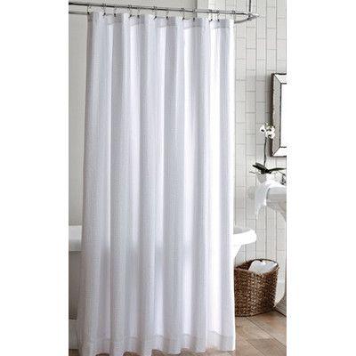 White Textured Shower Curtain Shower Curtain Curtains White
