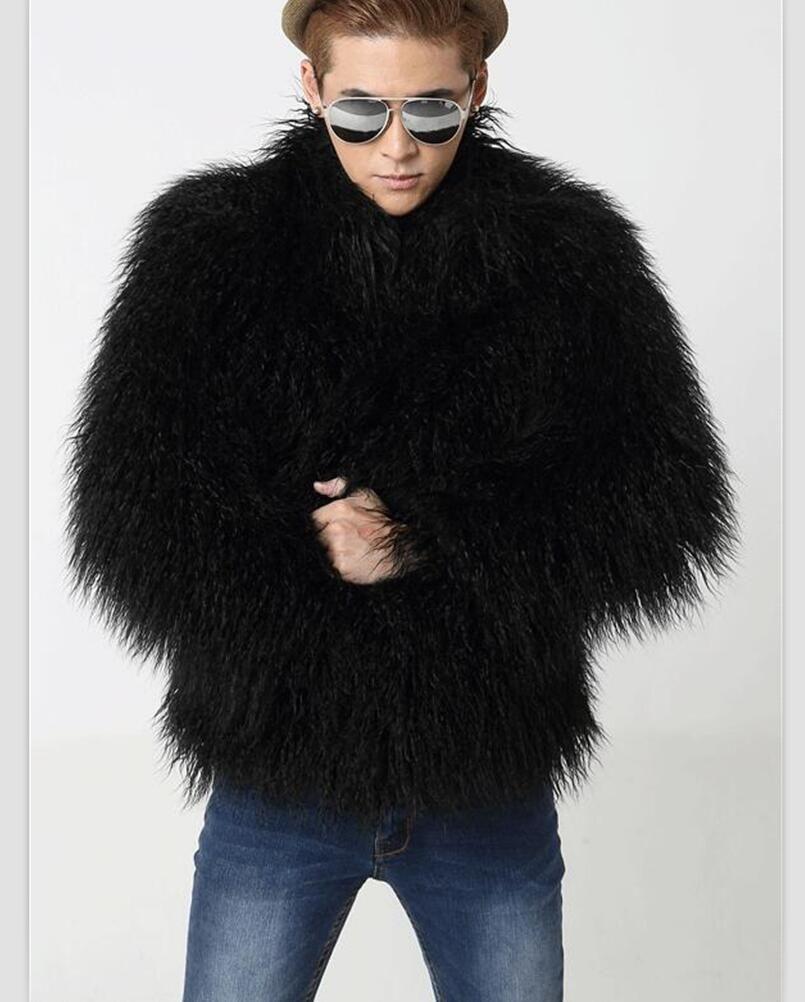 Mens faux fur coats jackets | Men's fur coats/jackets | Pinterest ...