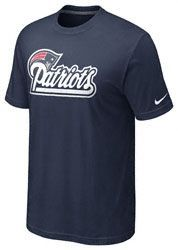 New England Patriots - Navy Nike Base Logo T-Shirt patriots party ... 7e289e171