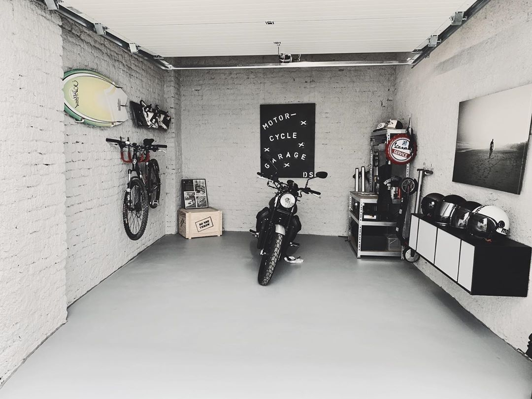 34 Best Motorbike Garage Ideas Images In 2020 Garage Design Motorcycle Garage Design