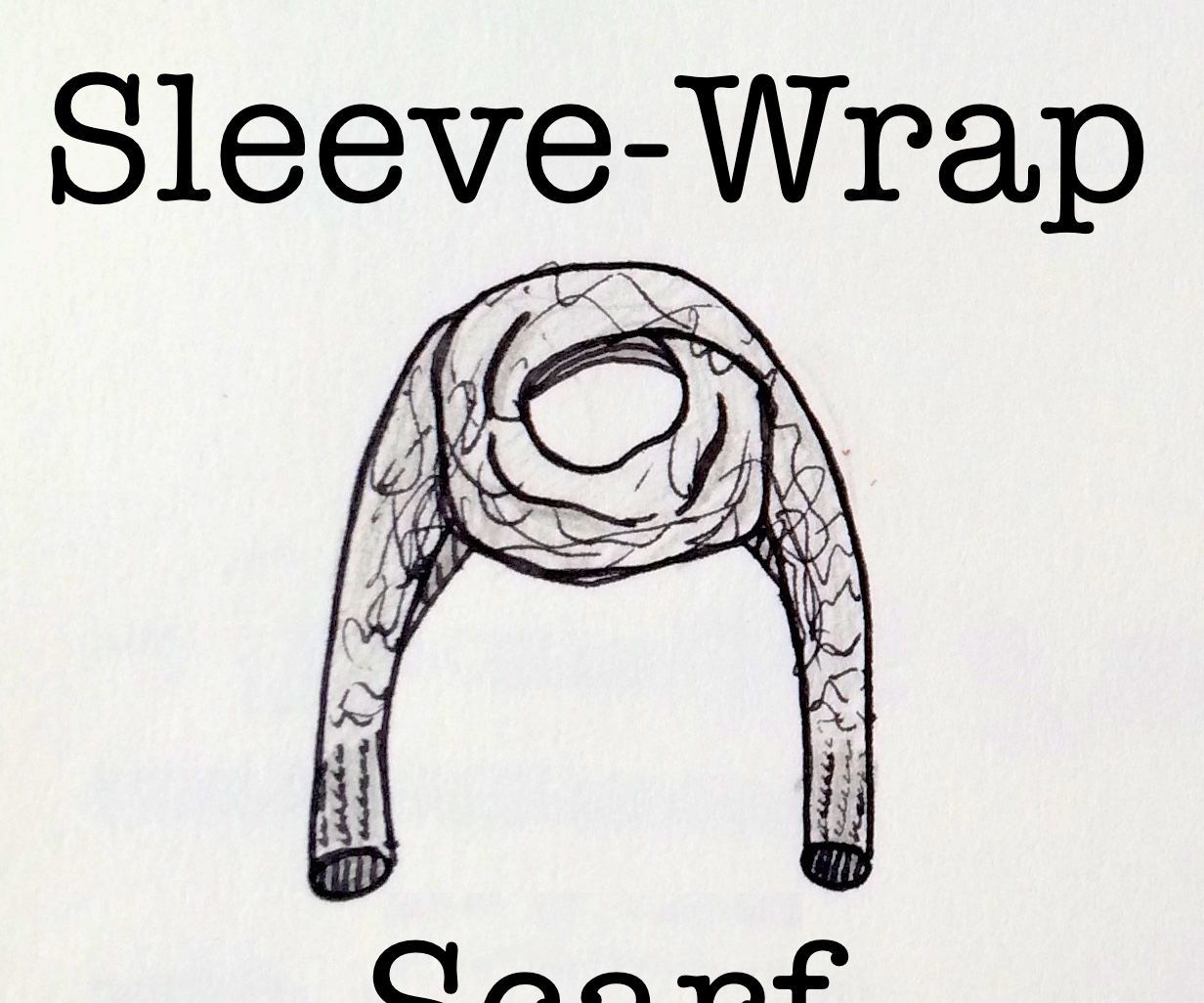 Photo of Sleeve-Wrap Scarf Crochet Pattern for Beginners