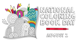 Pin On 3 4 National Coloring Book Day Poster