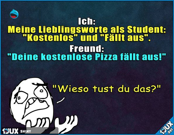 Gemeiner Freund! | Witziges | Funny, Funny Quotes und Funny stories