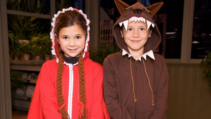 Little Red Riding Hoodie Costume Homemade toys - halloween horror costume ideas