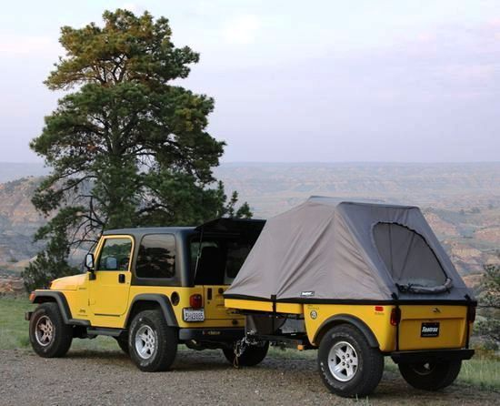 jeep camping jeep trailer pinterest jeep camping. Black Bedroom Furniture Sets. Home Design Ideas