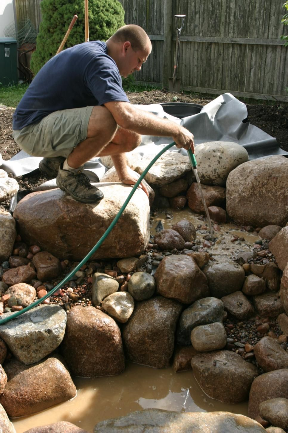 how to create a water feature water features pools and step by